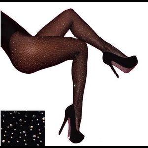 Accessories - Rhinestone Stockings